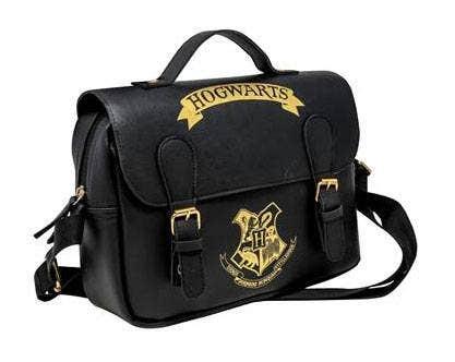 Hogwarts Black Satchel Style Lunch Bag