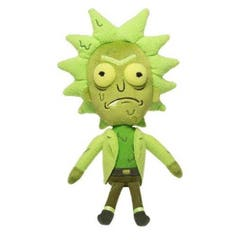 Toxic Rick Galactic Plush Figure 18 cm