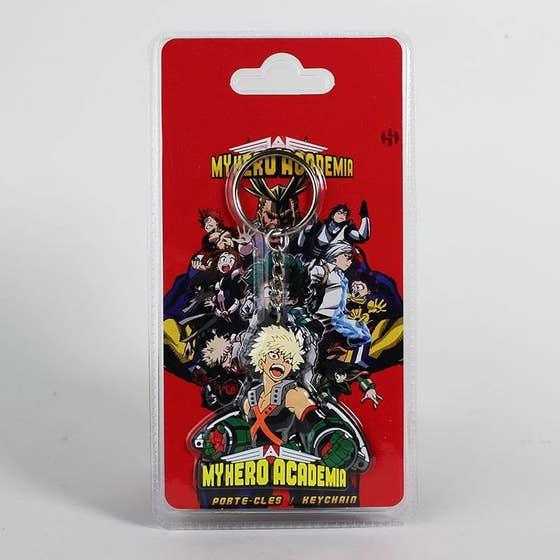 Katsuki Bakugo PVC Keychain 5 cm