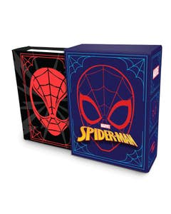 Marvel Comics: Spider-Man (Tiny Book): Quotes and Quips from Your Friendly Neighborhood Super Hero Fits in the Palm of Your Hand Stocking Stuffer, Novelty Geek Gift