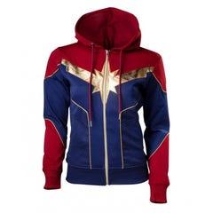 Captain Marvel 2.0 Women's Hoodie (L)