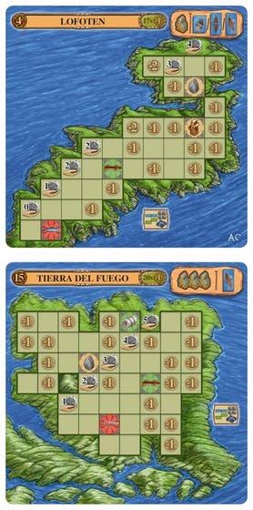 Lofoten, Orkney, and Tierra del Fuego Mini Expansion
