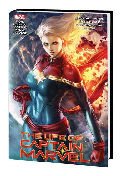 The Life Of Captain Marvel Marvel Select Edition