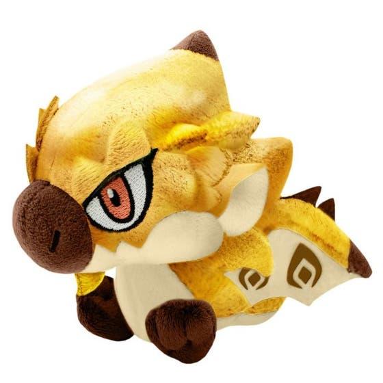 Monster Hunter Monster Chibi Plush Toy Gold Rathian