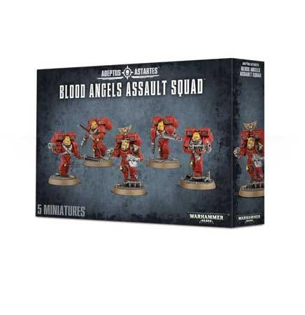 Blood Angels Assault Squad - 2016