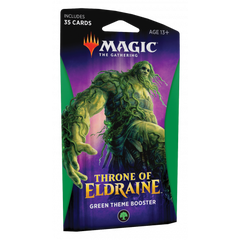 Throne of Eldraine Green Theme Booster