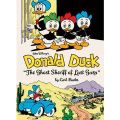 """Walt Disney's Donald Duck """"the Ghost Sheriff of Last Gasp"""": The Complete Carl Barks Disney Library Vol. 15"""