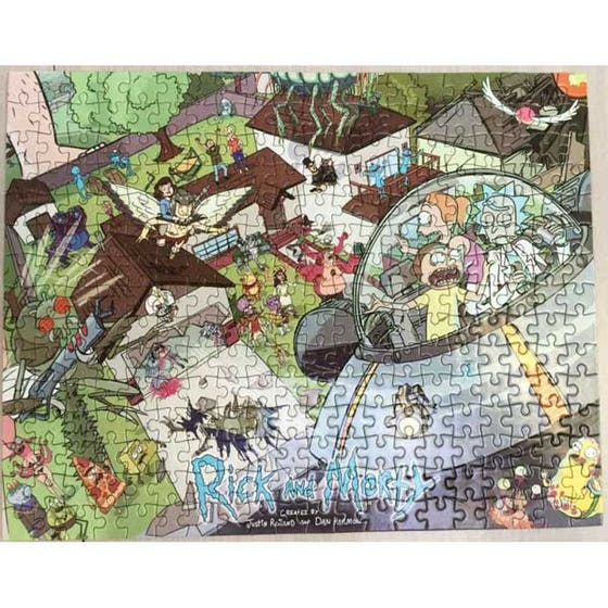 Rick and Morty Puzzle (300)