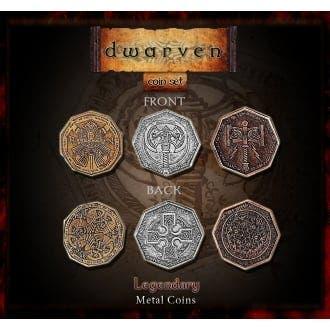 Dwarven Metal Coins Set (24)