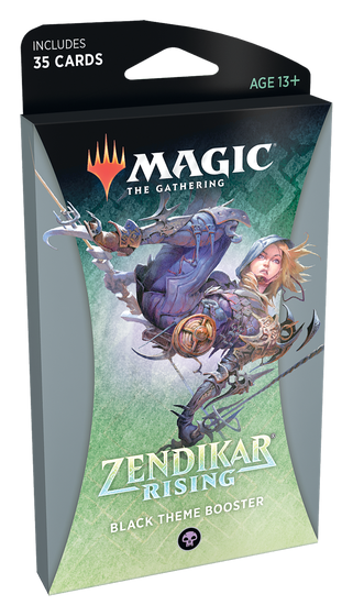 Zendikar Rising Black Theme Booster