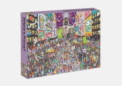 Where's Prince? Prince in 1999: 500 piece jigsaw puzzle