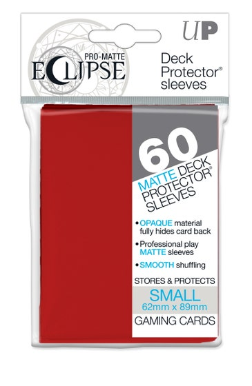 Eclipse Matte Small Sleeves Apple Red (60)