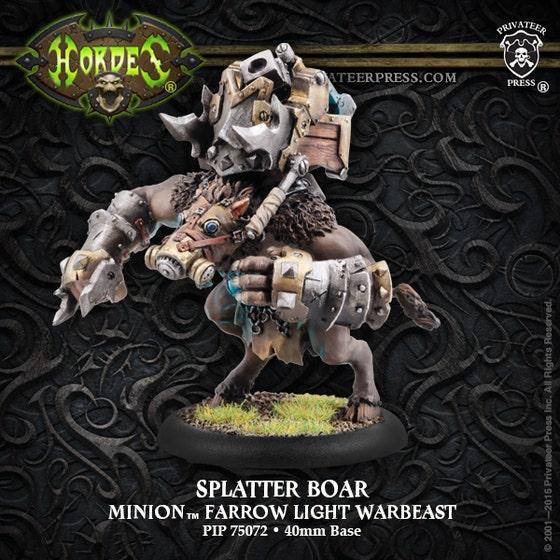 Splatter Boar Farrow Light Warbeast