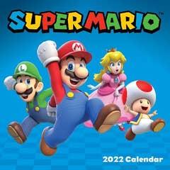 Super Mario 2022 Wall Calendar