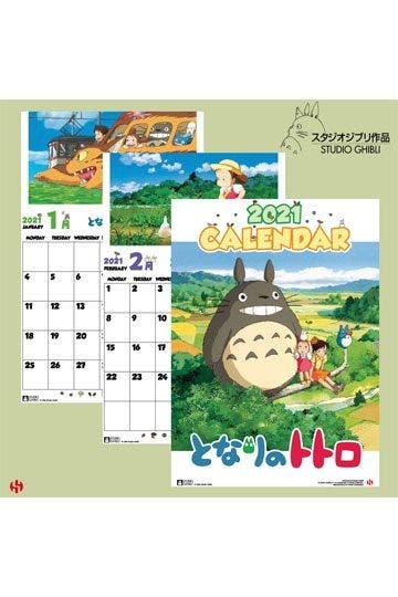 My Neighbor Totoro 2021 Wall Calendar