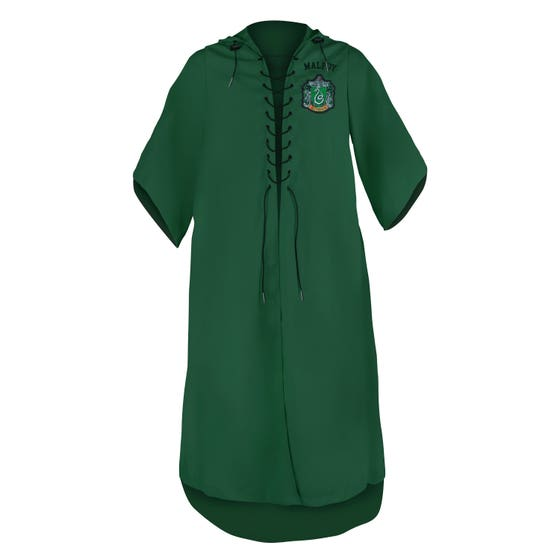 Slytherin Quidditch Personalized Kids' Robe