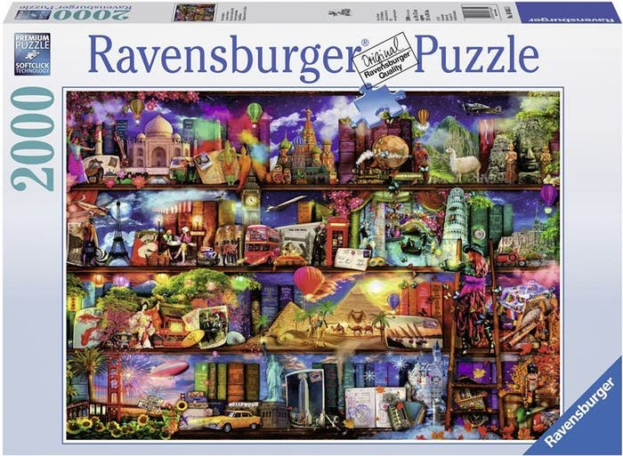 World of Books Puzzle (2000)