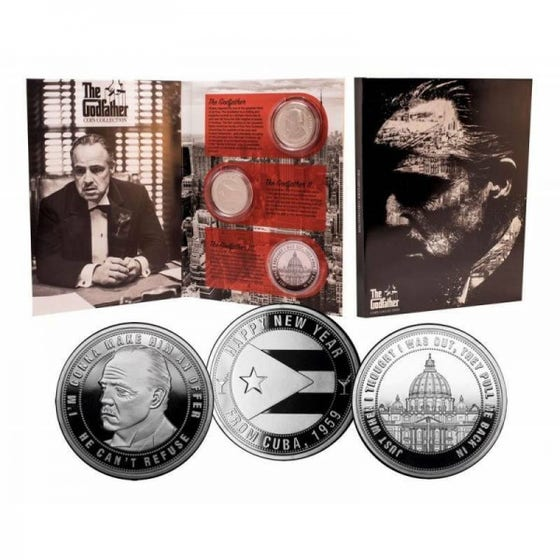 Godfather Album with Collectible Coins (3)