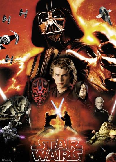 Dark Side of Star Wars Puzzle (1000)