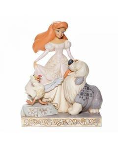 Spirited Siren White Woodland Figurine