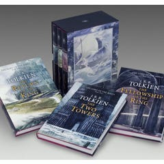 The Lord of the Rings: Illustrated by Alan Lee, three hardcovers in slipcase