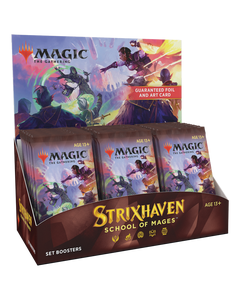 Strixhaven School of Mages Set Booster Display Box