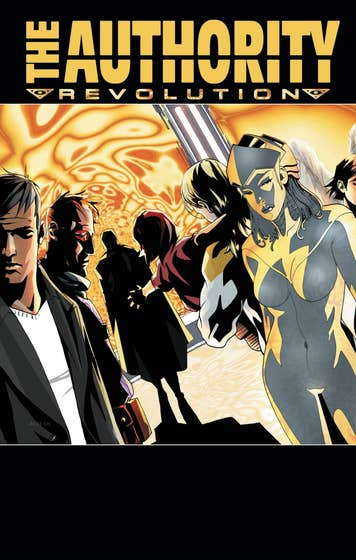 The Authority by Ed Brubaker and Dustin Nguyen