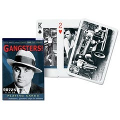 Gangsters Playing Cards