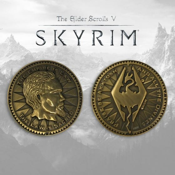 Elder Scrolls Limited Edition Collectible Coin