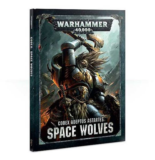 Codex Space Wolves 2018 HC