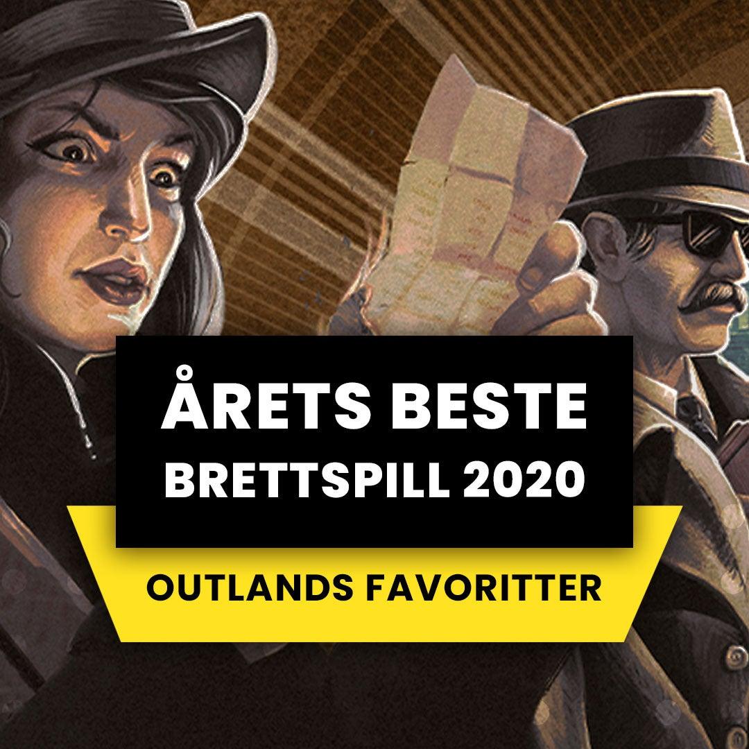 Årets beste brettspill i 2020 - Outlands favoritter