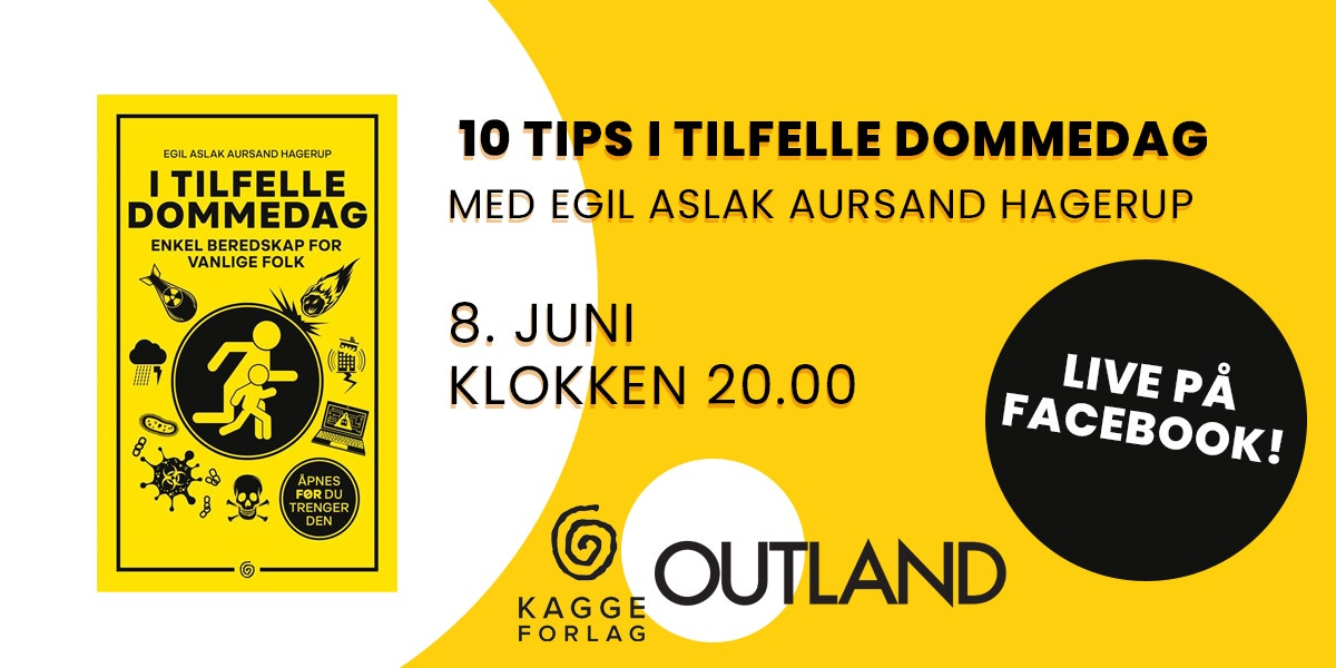 I tilfelle dommedag - Ti tips og digital boksignering med forfatter Egil Aslak Hagerup