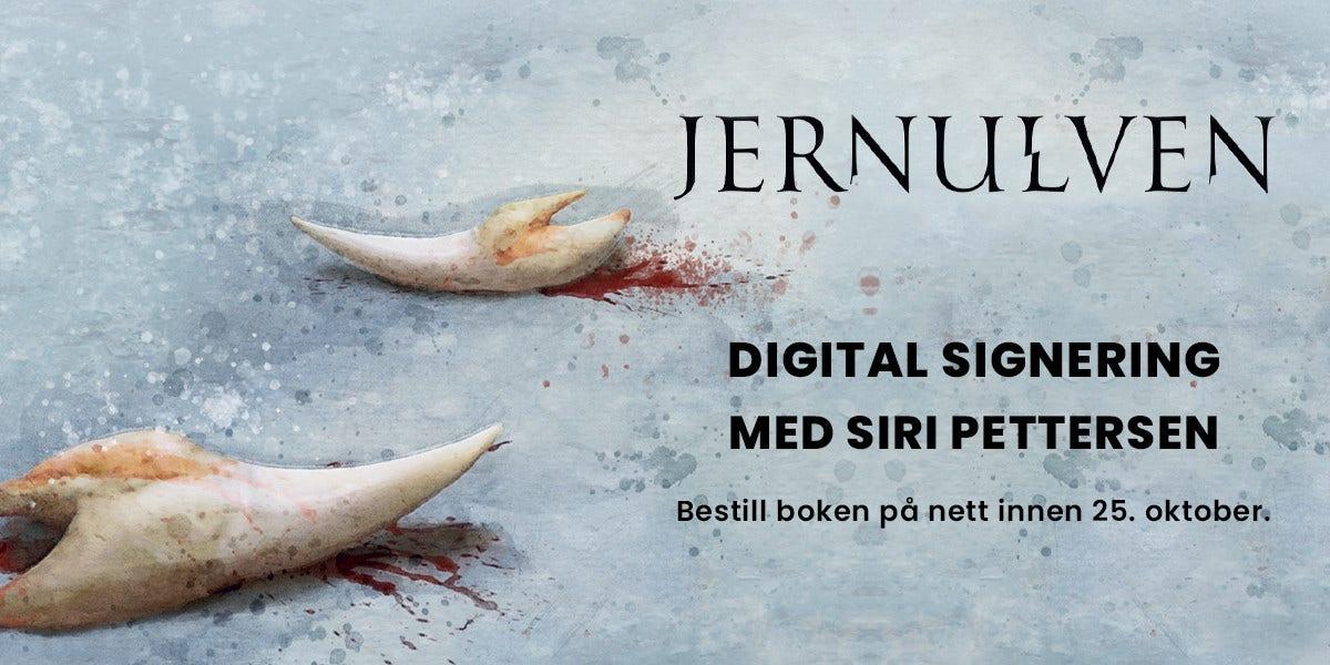 Siri Pettersen slipper sin nye bok, Jernulven, med eksklusiv Outland Edition!