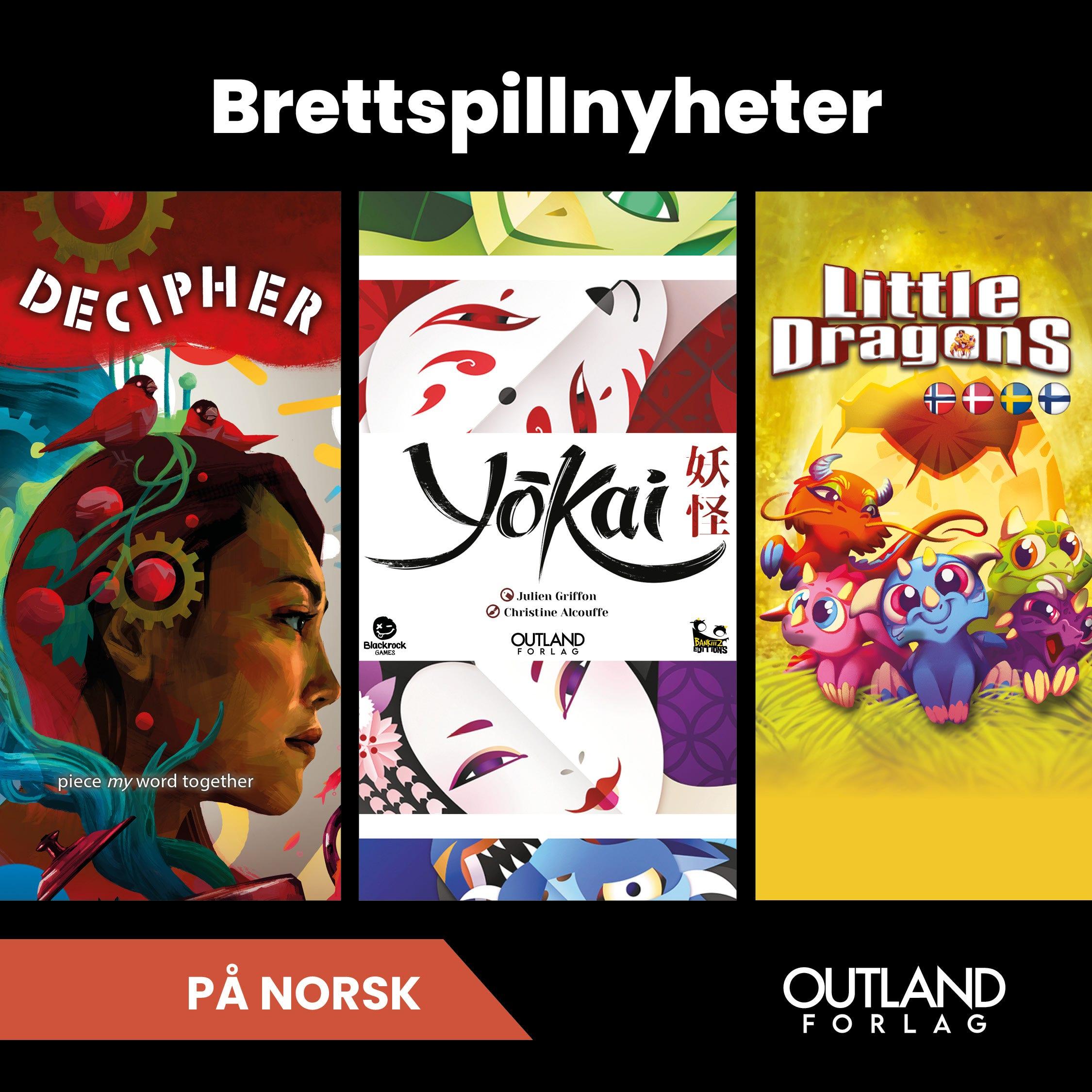 Høstens brettspilltips fra Outland forlag