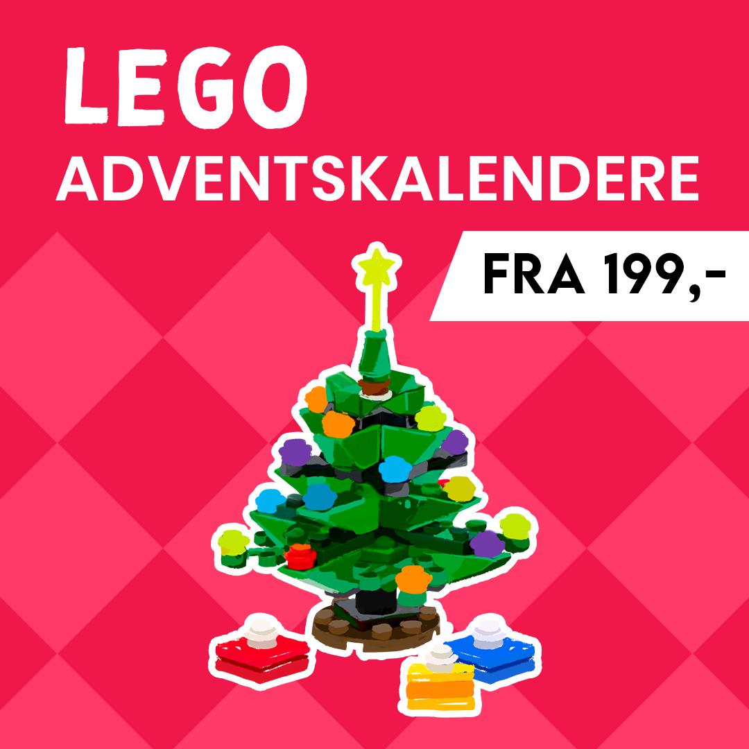 Adventskalendere i fem ulike sett fra LEGO | Bestill nå!