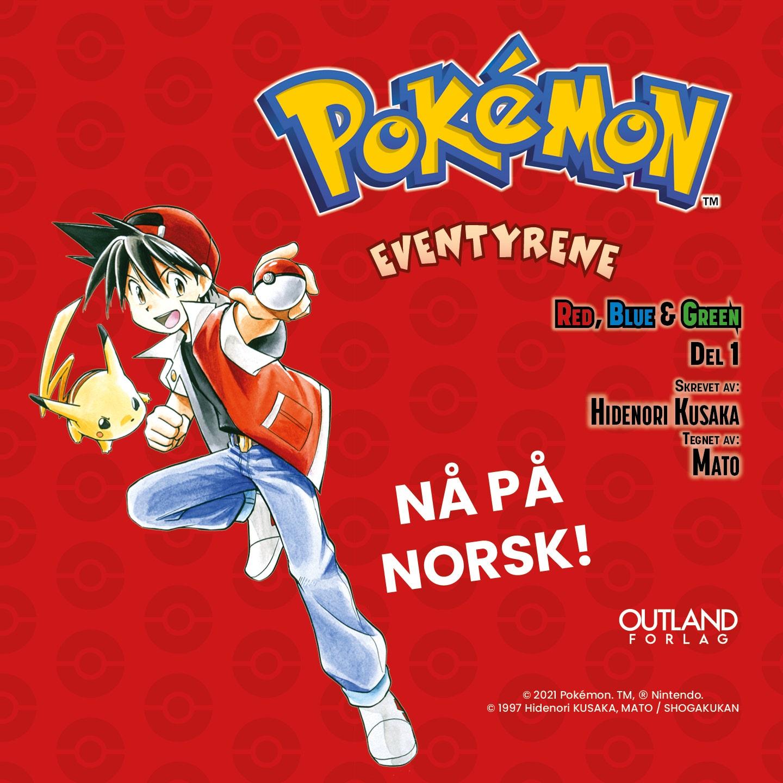 Alle kjenner til Pokémon - nå er historien ute på norsk!